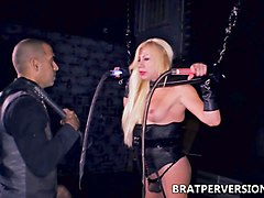 ts fabiola blonde trans bdsm domination