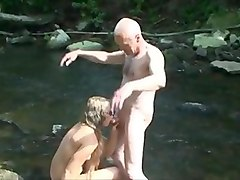 Grandpa sucked & sucking