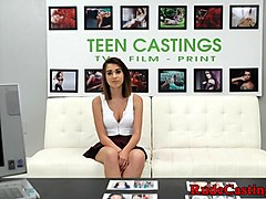 casting petite teen roughly fucked