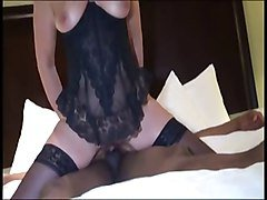 Beauty Interracial Rims Milf anal Fuck