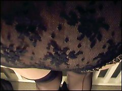 Upskirt Black Lace