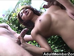 adultmemberzone  latina hottie sativa rose gets...