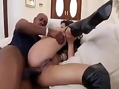 Negro and anal milf