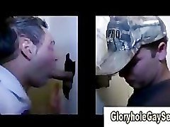 Straight boy duped at gloryhole