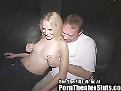 Shawna Takes Strangers Cumshots In Public Porn Cinema
