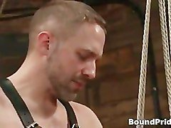 Jason Dirk in very extreme gay bondage part1