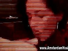 Real dutch prostitute amateur fuck and facial