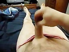 small dick jacking off