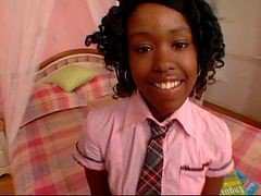 Cute Ebony Schoolgirl Fuck Diamond
