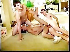 Rico Mantos & Fisher Twins threesome.
