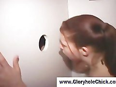 Gloryhole fucking and cum in mouth