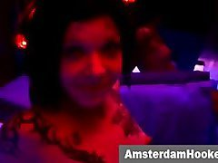 Cum showered hooker in amsterdam