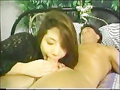 Hermaphrodite gives a Hot blowjob and receives a Facial!