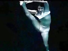 Underwater Flexible Gymnastic russian cumshots swallow