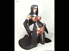 GOOD NUNS ARE TURNED EVIL FEOM SEX OF SUCCUBUS