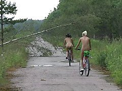 nudist bike ride