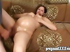 big preggo sucking serious cock