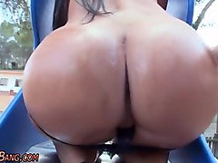 babe squirts in public