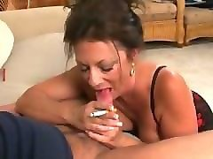 lean from 1fuckdate.com - margo smoking