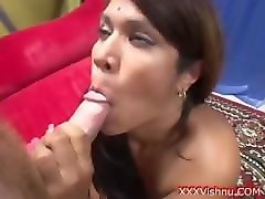 slutty sexy indian beauty pounded by hard white cock