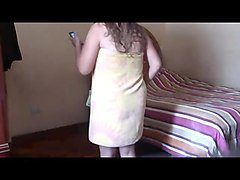 desi aunty naked home