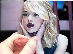 cum tribute 2 on emma stone