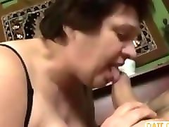 ugly fat grandma fucked hard