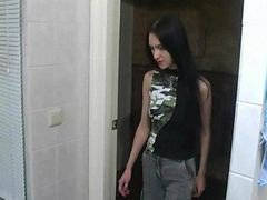 Cute Russian Teen Girl Fucked In Bathroom