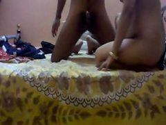 Indian Beautiful Aunty Supriya Enjoyed By Her Condom Covered Lover