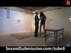 Dominated Bound And Fucked By A Prison Guard