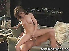 Lovely Babe Gets Her Tight Ass Screwed Roughly