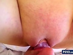 goddess beauty brunette ashley gets her pussy fucked in 3d audio