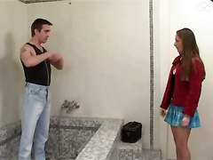 French Teen Auditions For The Wrong Guy