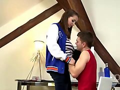 castingcouch-x - tall girl with natural boobs molly jane audition