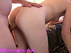 lesbian seduces straight women 40 dolls came over to soiree and
