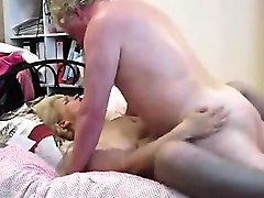 big tits brunette getting nailed doggy style by rough guy