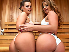 Hottest anal, lesbian porn video with amazing pornstars Savannah Fox and Roxy Raye from Everythingbutt
