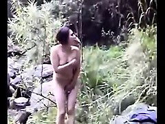 asian women get nude outside