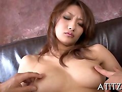 cheating japanese housewife spreads her sexy slim body acro