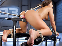 super hot sarah rides venus cock and venus slaps her round ass