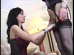 Hot french lesbians licking and fingering