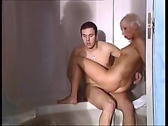 French mature eva delage with a junior guy