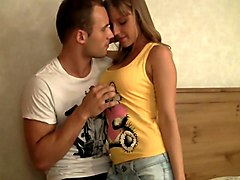 stunning teens at the casting segment video 1
