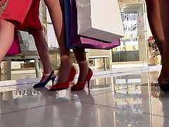 mallcuties - teen girl - public with teen - shy tenn girl