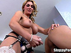 strap on action - tanya tate, jynx maze, allie haze, nikki sexx, aurora snow