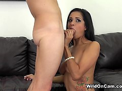 Abby Lee Brazil in Brazilian Babe Abby - WildOnCam