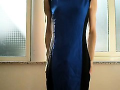 crossdresser gown that is blue 2