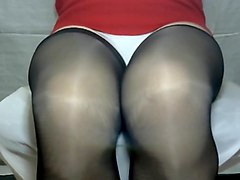 Crossdresser pantyhose stockings 095