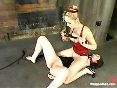 Chanta-Rose and Faith Leon in Whippedass Video
