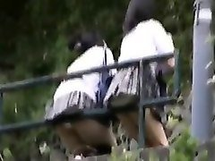 crafty cameraman uses his spy cam to get upskirt shots from